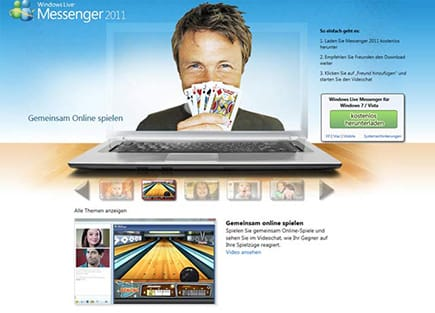 Windows Live Messenger Video-Chat