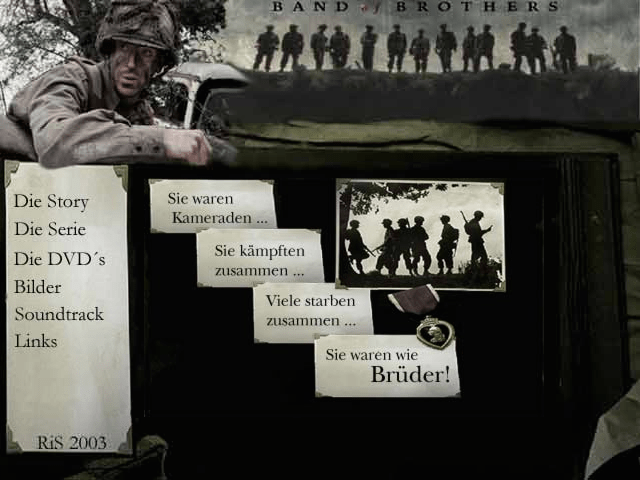 Band of Brothers Fan Seite